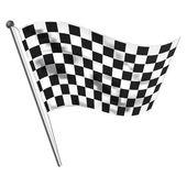Race flag — Stock Photo
