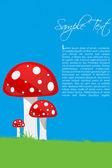 Colorful mushrooms — Stock Photo