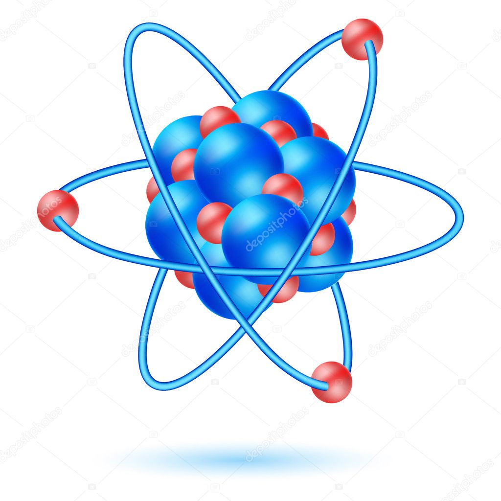 Illustration of atom molecule — Stock Photo #4164887