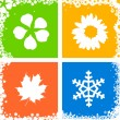 Four season — Foto Stock