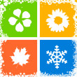 Four season — Stockfoto
