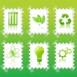 Royalty-Free Stock Photo: Recycle stamp