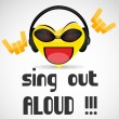 Sing out loud — Stock Photo