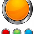 Glossy colorful buttons — Stock Photo