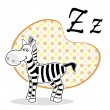 Illustration of zebra — Stock Photo
