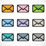 Message icon — Stock Photo