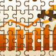 Royalty-Free Stock Photo: Profit puzzle