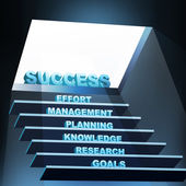 Steps of success — Foto de Stock