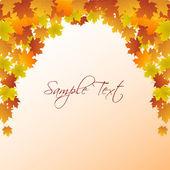 Autumn card — Stock Photo