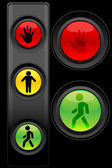 Traffic lights — Stock Photo