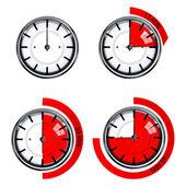Função de relógio — Foto Stock