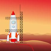Rocket launcher — Stock Photo