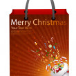 Royalty-Free Stock Photo: Christmas bag