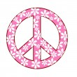 Peace symbol — Stock Photo