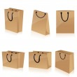 Eco friendly shopping bags — Stock Photo