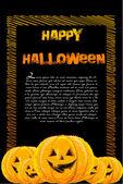 Halloween card — Stock Photo