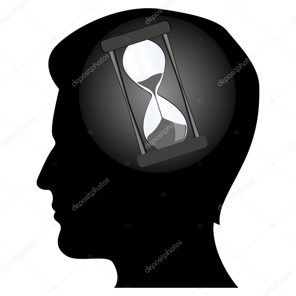 Illustration of man's mind — Stock Photo #4269443