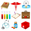 Medical icons - Stock Photo