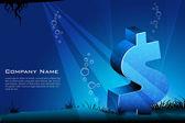 Shiny business card — Stock Photo