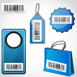 Barcode tags - Stock Photo