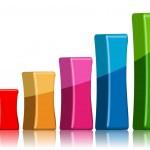 Bar graph — Stock Photo #4309702