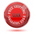 Free shipping icon — Stock Photo