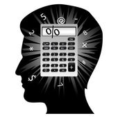 Creative man's mind — Stock Photo