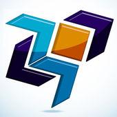 Logo icon — Stock Photo