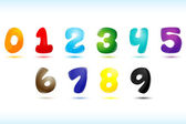 Numerical text — Stock Photo