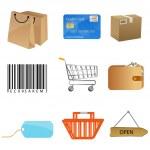 Sales icons — Stock Photo
