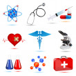 Medical icons — Stock Photo #4337165