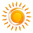 Warming sun — Stock Photo
