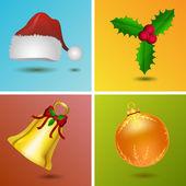 Christmas signs — Stock Photo