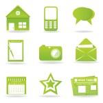 Communication icons — Stock Photo