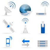 Internet icons — Stock Photo