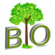 Bio tree - Stock Photo