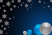 Merry christmas ball — Stock Photo