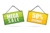 Discount tags — Stock Photo
