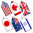 Different flags — Stock Photo #4403368