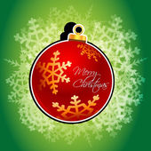 Abstract christmas card — Stock Photo