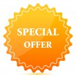 Special offer tag — Stock Photo