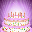 Abstract birthday card — Stock Photo #4485513