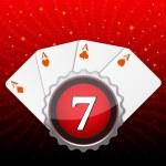 Casino card — Stock Photo