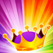 Abstract crown - Foto Stock