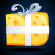 Cheese present - Stockfoto