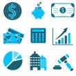 Business icons — Stock Photo