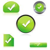 Right button — Stock Photo