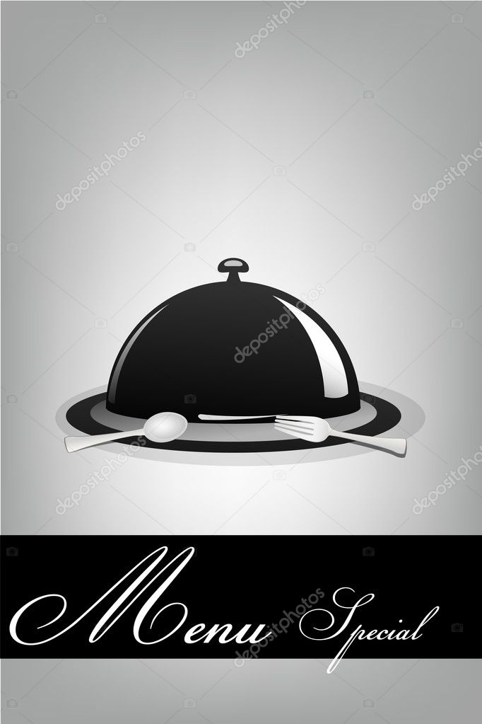 Illustration of menu special on white background  Stock Photo #4486487
