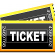 Tickets icon - Stock Photo