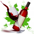 Fruity wine - Stockfoto